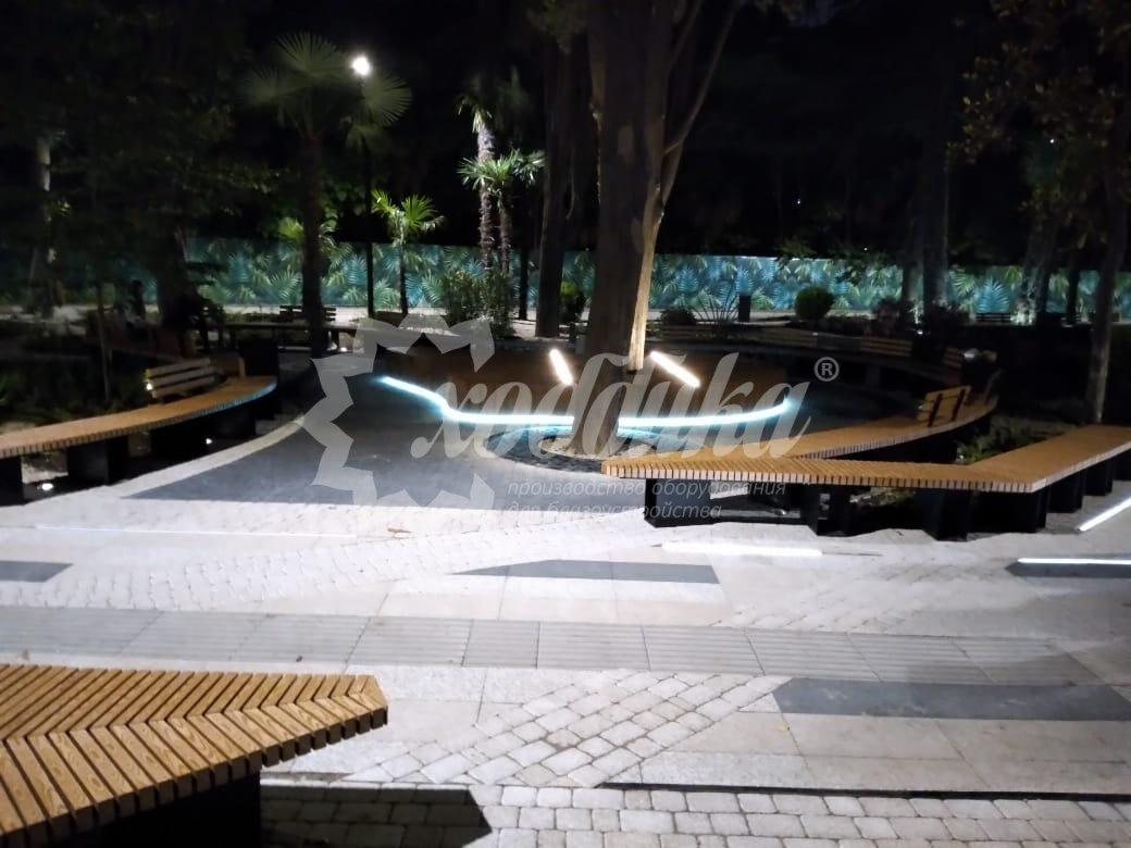 Смотрите в новой галерее благоустройство парка «Ривьера» в Сочи - 1